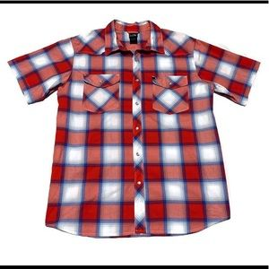 The North Face Men's Esken Pearl Snap Plaid Shirt